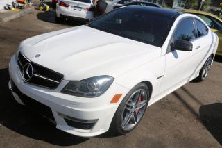 Used 2013 Mercedes-Benz C-Class 2dr Cpe C 63 AMG RWD for sale in New Westminster, BC
