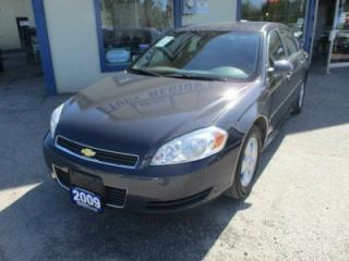 Used 2009 Chevrolet Impala 'GREAT VALUE' POWER EQUIPPED LS MODEL 5 PASSENGER 3.5L - V6.. CD/AUX INPUT.. KEYLESS ENTRY.. for sale in Bradford, ON