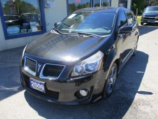 Used 2009 Pontiac Vibe POWER EQUIPPED GT EDITION 5 PASSENGER 2.4L - ECO-TEC.. LEATHER TRIM.. CD/AUX INPUT.. POWER SUNROOF.. for sale in Bradford, ON