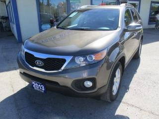 Used 2013 Kia Sorento FAMILY MOVING LX EDITION 5 PASSENGER 3.5L - V6.. AWD.. HEATED SEATS.. CD/AUX/USB INPUT.. BLUETOOTH SYSTEM.. for sale in Bradford, ON