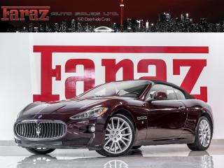 Used 2010 Maserati GranTurismo S|4.7L|CONVERTIBLE|NAVI|BOSE|LOADED for sale in North York, ON