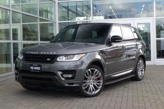 Used 2014 Land Rover Range Rover Sport V8 SC Autobiography Dynamic Loaded! for sale in Vancouver, BC