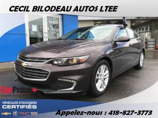 Used 2016 Chevrolet Malibu LT 1.5L TURBO CUIRE for sale in Ste-Anne-de-Beaupré, QC