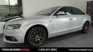 Used 2010 Audi A4 2.0T Premium Quattro mags cuir for sale in Trois-rivieres, QC