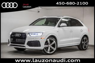 Used 2016 Audi Q3 2.0T Technik S-LINE for sale in Laval, QC