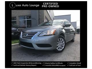 Used 2014 Nissan Sentra S - ONLY 11,000KM!! AUTO, BLUETOOTH, CRUISE, A/C! for sale in Orleans, ON