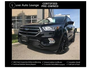 Used 2017 Ford Escape SE AWD, BLACK PKG, NAV, 23K!! HEATED SEATS! for sale in Orleans, ON