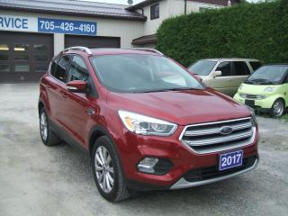 Used 2017 Ford Escape Titanium , 4WD, Leather ,Nav. ,Pano Roof for sale in Beaverton, ON