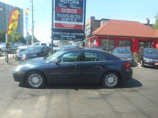 Used 2008 Chrysler Sebring TOURING/ LEATHER / ROOF/ ALLOYS / LOW KM for sale in Scarborough, ON