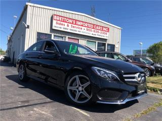 Used 2015 Mercedes-Benz C-Class C 400 4Matic for sale in Burlington, ON