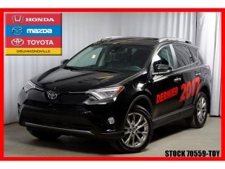 Used 2017 Toyota RAV4 LTD AWD for sale in Drummondville, QC