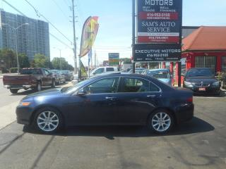 Used 2006 Acura TSX MINT/ LIKE NEW/ A/C / ALLOYS / LOW KMS / LEATHER / for sale in Scarborough, ON