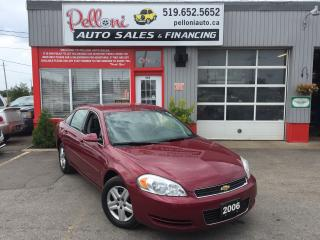 Used 2006 Chevrolet Impala LS ONE OWNER for sale in London, ON