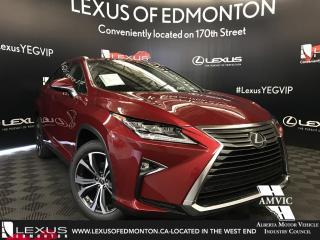 New 2018 Lexus RX 350 Luxury Package for sale in Edmonton, AB
