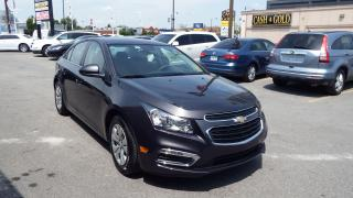 Used 2016 Chevrolet Cruze LT/BACKUP CAMERA/IMMACULATE$14500 for sale in Brampton, ON