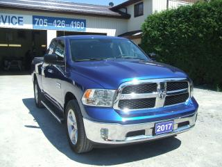 Used 2017 RAM 1500 SLT , Quad Cab, 4X4 for sale in Beaverton, ON