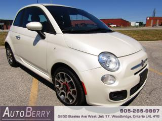 Used 2012 Fiat 500 Sport - 5 Speed Manual for sale in Woodbridge, ON