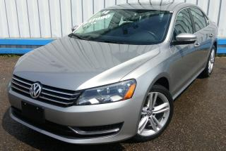 Used 2014 Volkswagen Passat Comfortline TSI *LEATHER-SUNROOF* for sale in Kitchener, ON