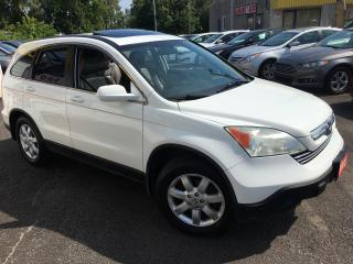 Used 2008 Honda CR-V EX-L/ NAVI/ BACK UP CAM/ LEATHER/ SUNROOF/ ALLOYS for sale in Scarborough, ON