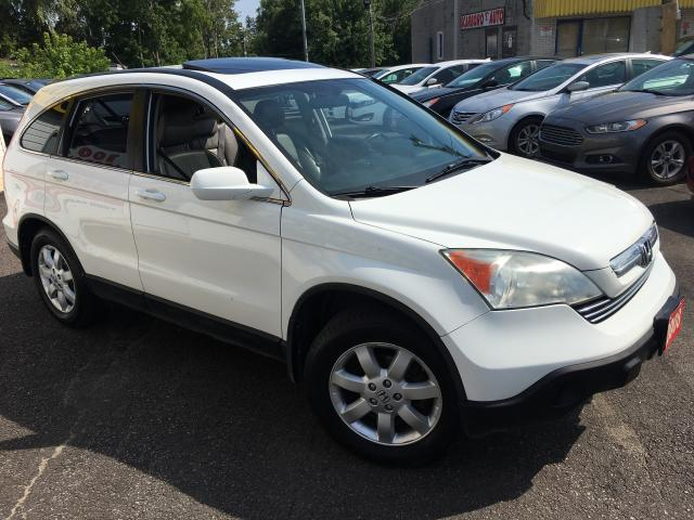 2008 Honda CR-V EX-L/ NAVI/ BACK UP CAM/ LEATHER/ SUNROOF/ ALLOYS