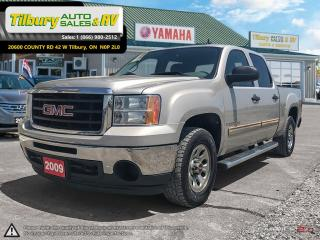 Used 2009 GMC Sierra 1500 V8. RUNNING BOARDS. COMFORTABLE. for sale in Tilbury, ON