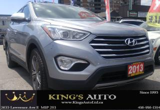 Used 2013 Hyundai Santa Fe LTD w/Saddle Int & Unvented Seat for sale in Scarborough, ON