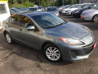 Used 2012 Mazda MAZDA3 GX/ AUTO/ POWER GROUP/ ALLOYS/ TINTED WINDOWS for sale in Scarborough, ON