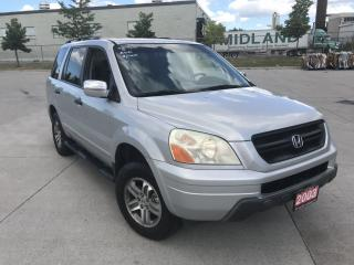 Used 2003 Honda Pilot EX- L, 4WD, 8 Pass, 3/Y warranty available for sale in North York, ON