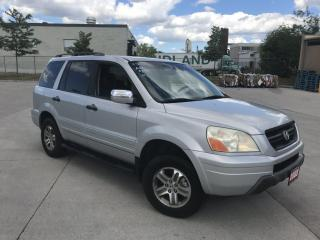 Used 2003 Honda Pilot EX- L, 4WD, 8 Pass, 3/Y warranty available for sale in Toronto, ON