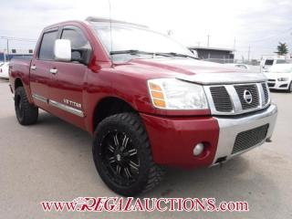 Used 2007 Nissan TITAN  4D CREW CAB for sale in Calgary, AB