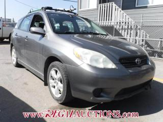 Used 2006 Toyota MATRIX XR 4D HATCHBACK for sale in Calgary, AB
