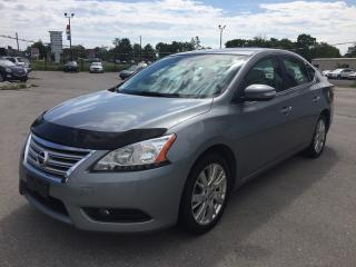 Used 2013 Nissan Sentra SL * Leather * NAV * Rear CAM * Sunroof * Bluetooth * Locally Owned AND Serviced for sale in London, ON