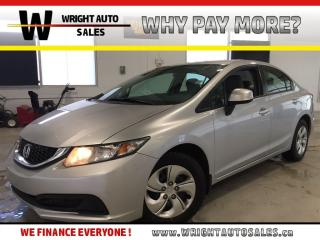 Used 2013 Honda Civic LX|HEATED SEATS|LOW MILEAGE|83,376 KMS for sale in Cambridge, ON
