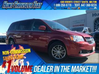 Used 2015 Dodge Grand Caravan SXT PLUS/DVD/CAM/BLUETOOTH/LEATHER & MORE!!! for sale in Milton, ON