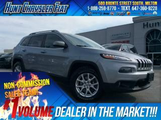 Used 2014 Jeep Cherokee NORTH/4X4/V6/TOW/CAM/8.4 & MORE!!! for sale in Milton, ON