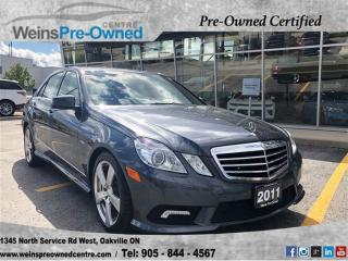 Used 2011 Mercedes-Benz E-Class E350 BLUETEC  SUNROOF  BLIND SPOT  LEATHER for sale in Oakville, ON