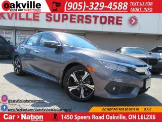 Used 2016 Honda Civic TOURING | LEATHER | ROOF | B\U CAM | NAVI for sale in Oakville, ON