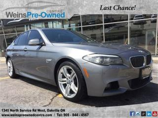 Used 2011 BMW 5 Series 535i Xdrive | Heads-Up Display| M Sport Pkg | Serv for sale in Oakville, ON