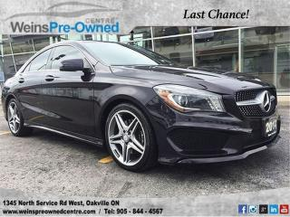 Used 2014 Mercedes-Benz CLA-Class 250 l for sale in Oakville, ON