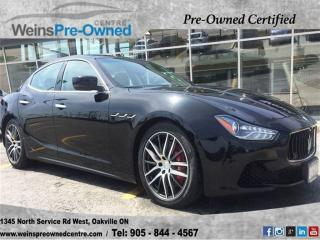 Used 2014 Maserati Ghibli S Q4 for sale in Oakville, ON