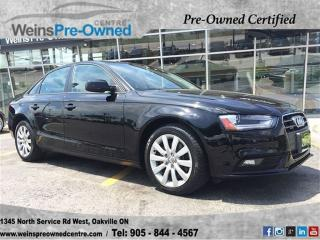 Used 2014 Audi A4 Komfort for sale in Oakville, ON