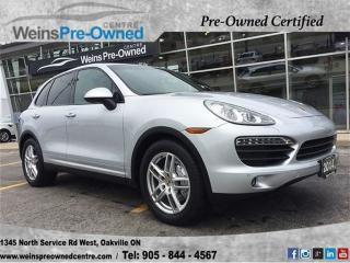 Used 2014 Porsche Cayenne S for sale in Oakville, ON