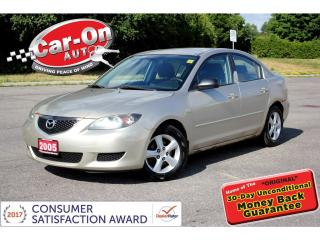 Used 2005 Mazda MAZDA3 GX A/C ALLOYS ONLY $799 for sale in Ottawa, ON