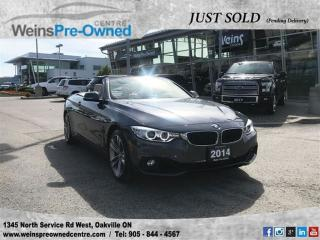 Used 2014 BMW 4 Series 428I Xdrive| GPS| Back Up Camera| Leather for sale in Oakville, ON