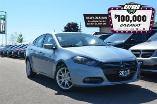 Used 2013 Dodge Dart SXT - 2.0L, FWD, Newer Tires, Remote Start, Cruise for sale in London, ON