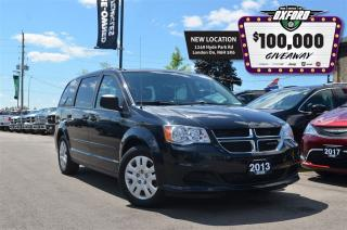 Used 2013 Dodge Grand Caravan SXT - Full Stow N Go, Dark Tint, Cruise, Quad Capt for sale in London, ON