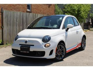 Used 2015 Fiat 500 500T*Only 11986kms*Turbocharged*MINT for sale in Mississauga, ON