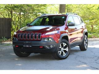 Used 2014 Jeep Cherokee Trailhawk*V6*Bluetooth*Leather*VERY CLEAN for sale in Mississauga, ON
