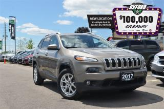 Used 2017 Jeep Cherokee North - Low KMs. Bluetooth, Sat Radio, Heated Seat for sale in London, ON