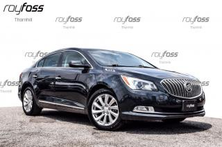 Used 2014 Buick LaCrosse 8 Touch Screen Remote Start Convenience Pkg for sale in Thornhill, ON